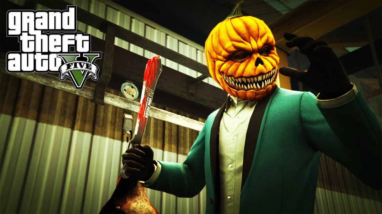GTA 5 Online Halloween DLC Slasher with Friends | Random Gaming ...