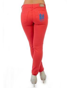 e3c8833fbd184 Calça Jeans Color Polo Wear