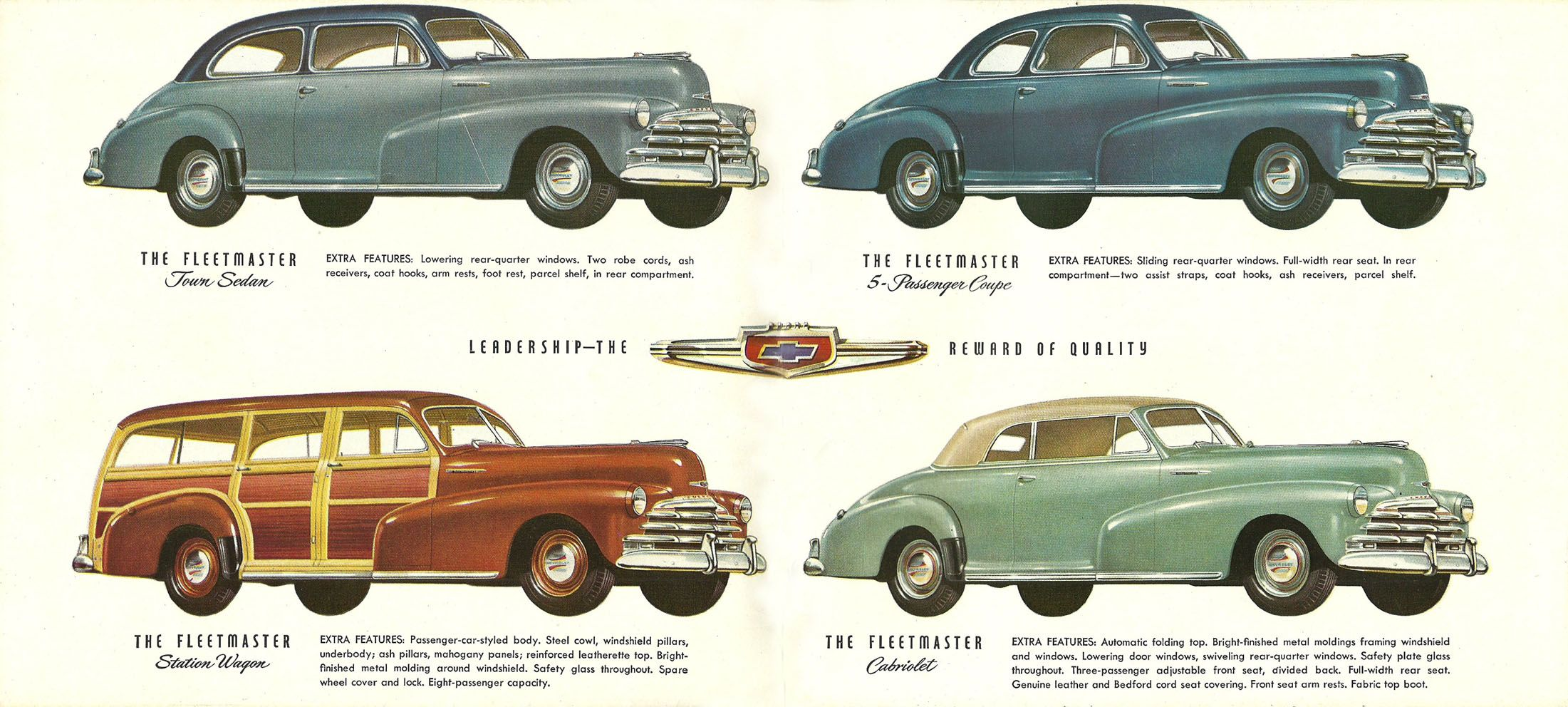 1947 Chevy\'s | Chevrolet....car brochures | Pinterest | Chevrolet ...
