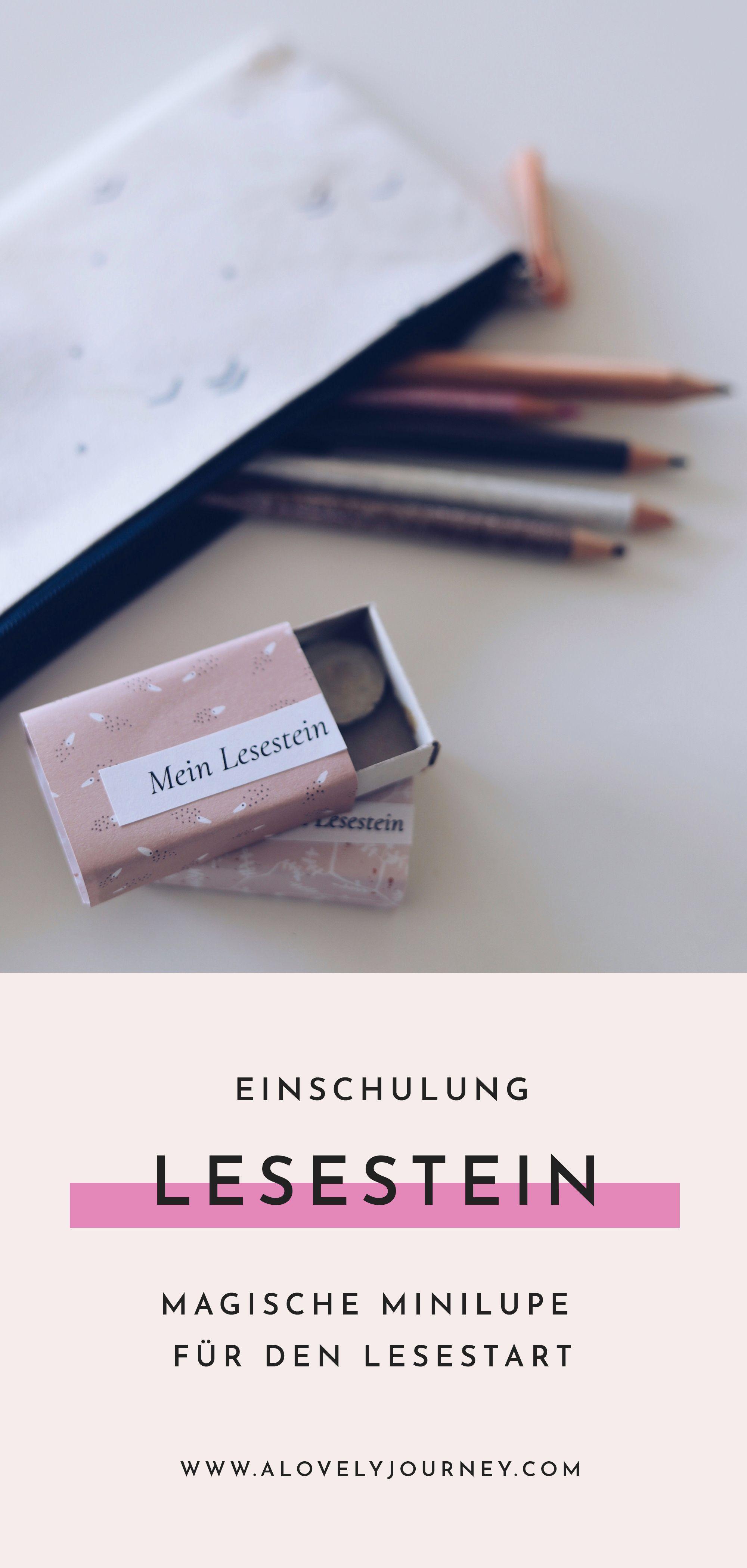 Mein Lesestein: Magische Minilupe für den Schulstart