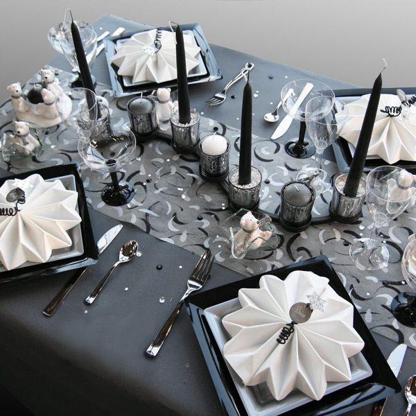 Deco gris et blanc pour mariage