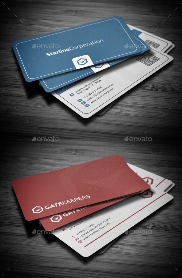 Business Cards Bundle #2 | Pinterest | Card templates, Business ...