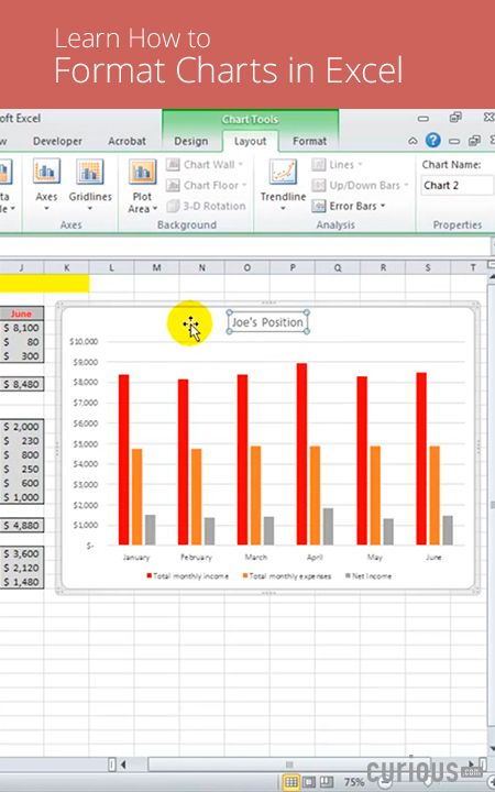 In this lesson, learn how to format a chart in Excel, customizing