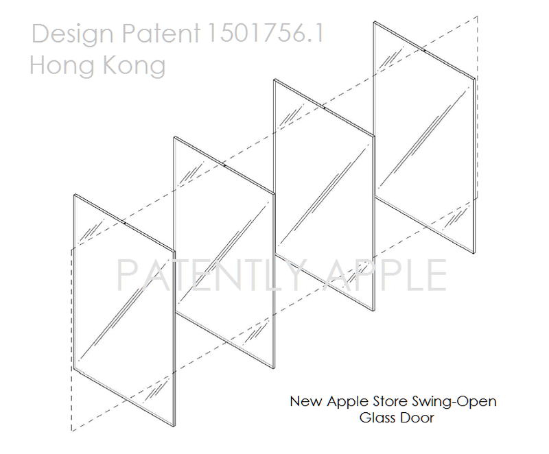 Open Store Doors 5af 55 apple design patent swing open glass doors apple store