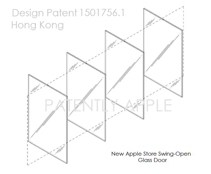 5af 55 Apple Design Patent Swing Open Glass Doors Apple Store