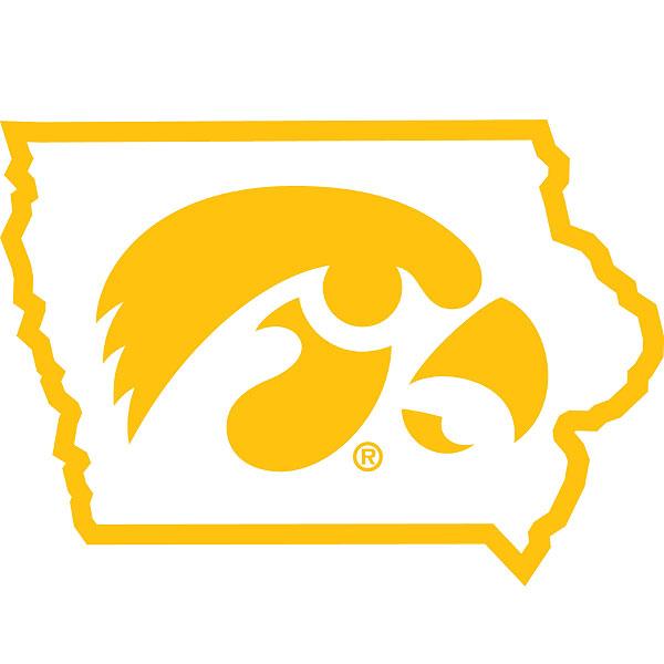 Iowa Hawkeyes Tigerhawk Decal Hawkeyes Iowa Hawkeyes Iowa
