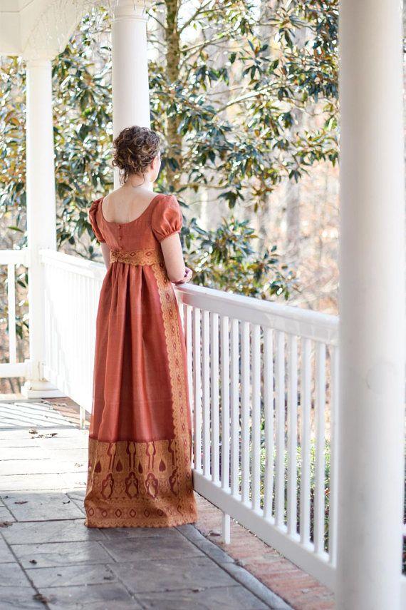 Regency Ball Gown, Jane Austen Dress, Pride and Prejudice Costume ...