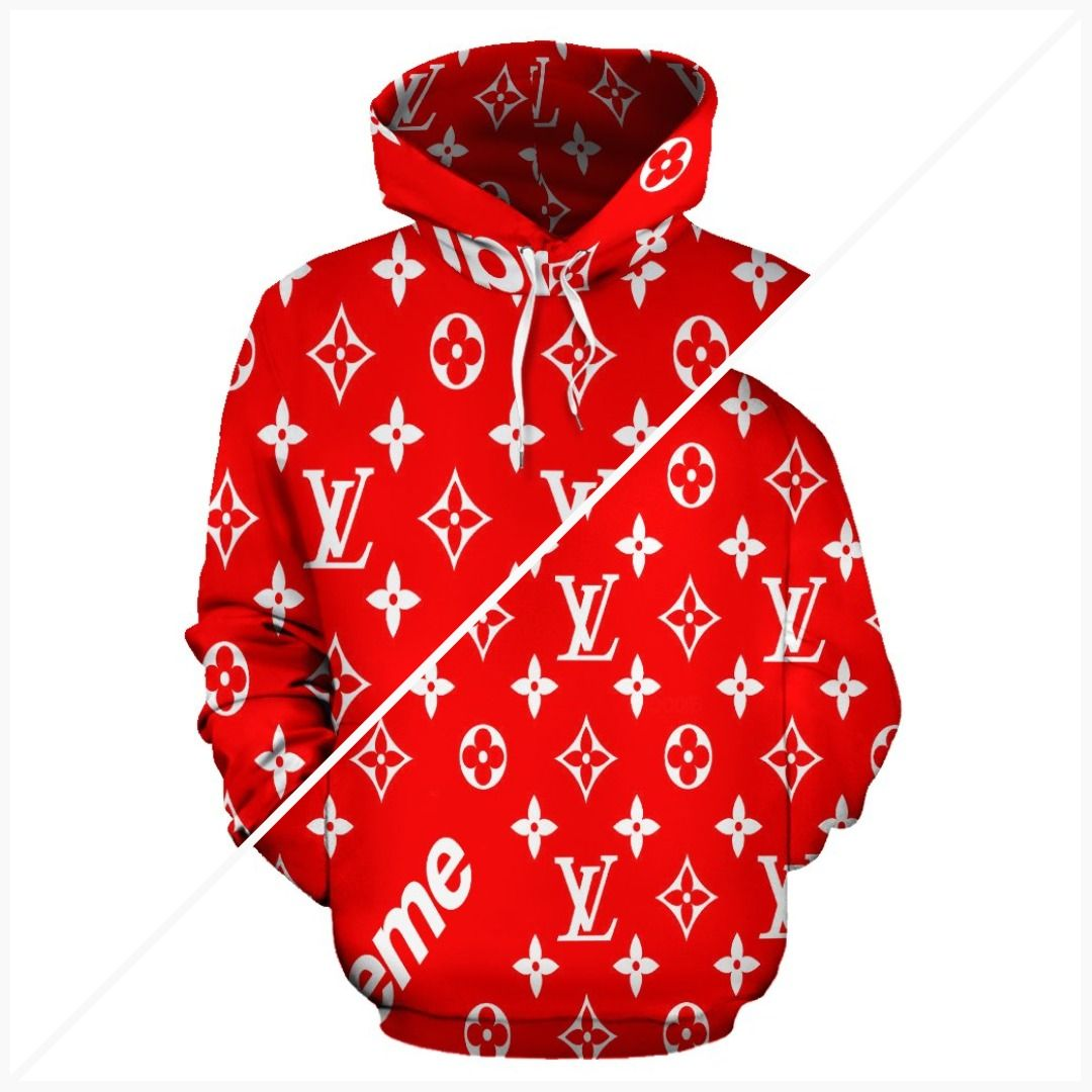 Bandana Fever Supreme Lv Print Pullover Hoodie Sneakeroftheday Kicksonfire Sneakers Guccishoes Bandoez Luxurybra Hoodies Print Pullover Hoodies For Sale [ 1080 x 1080 Pixel ]