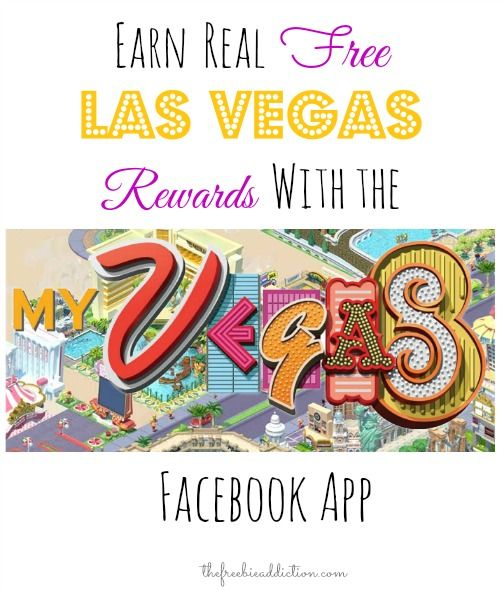 Earn REAL FREE Las Vegas Rewards with myVEGAS Facebook App