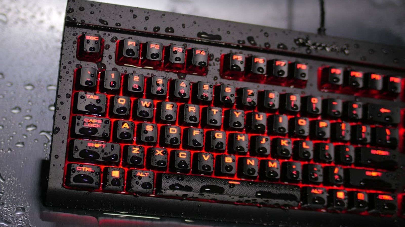 https://goo.gl/Bxrc2w Corsair releases a snack-proof gaming keyboard