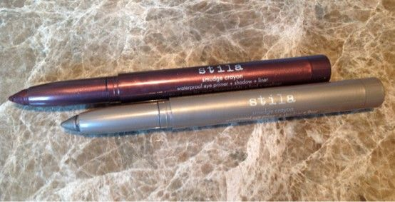 Stila Smudge Crayons in Umber and Smoke