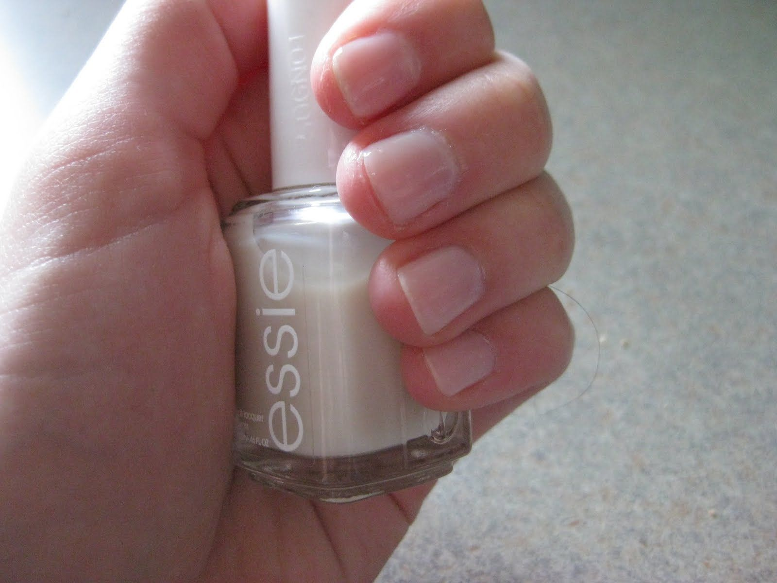 Essie allure nail polish-looks like you buffed your nails ...