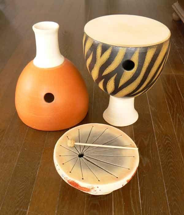 Clay Musical Instruments Instrumentos Musicales De