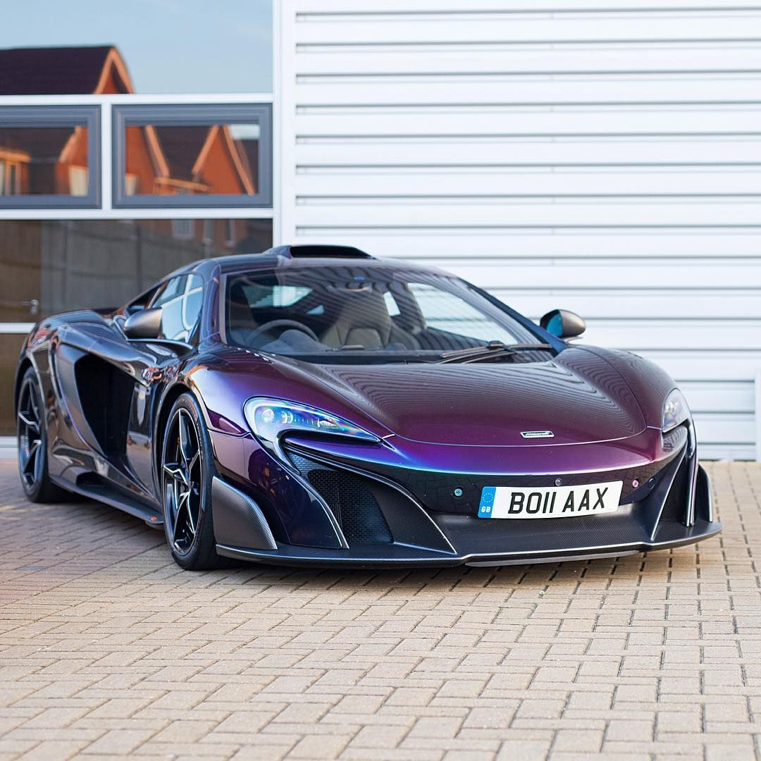 England Luxury Car: McLaren 675LT (With Images)