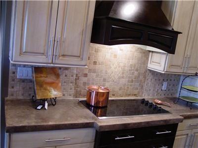 pretty kitchen with concrete