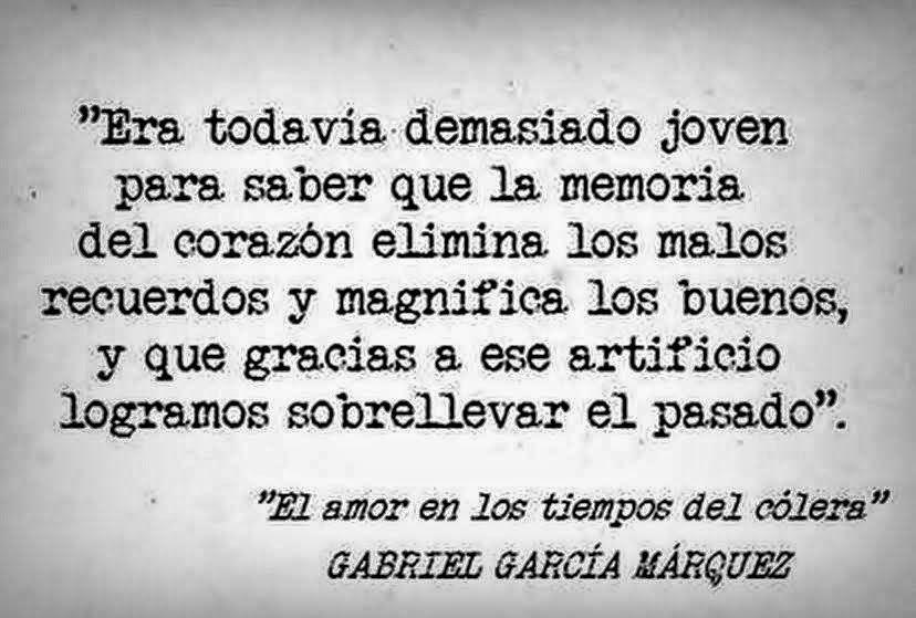 Gabriel García Márquez Frases El Amor En Los Tiempos Del