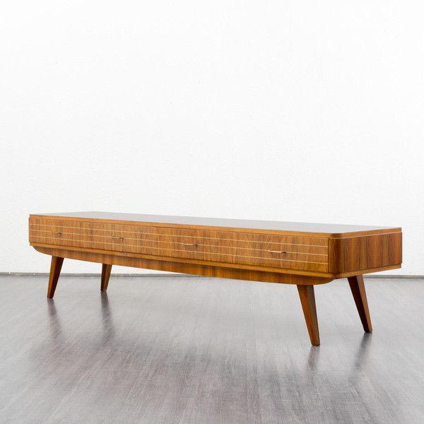 Lowboard nussbaum  60er Kommode, Vintage, 50er, Sideboard | Produkte und Vintage