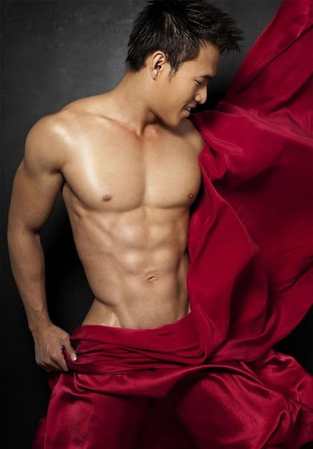 Asian male stripper