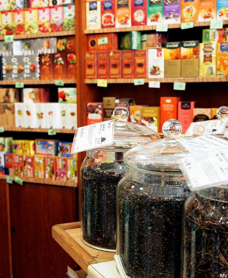Kaakao kermavaahdolla: ♥ Čajový krámek - Ihana teekauppa Prahassa