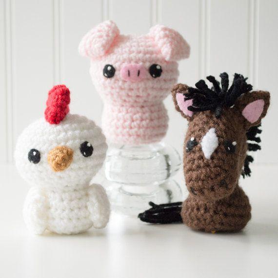 Born in a Barn 1 Amigurumi Pattern - Horse Crochet Pattern - Pony ...