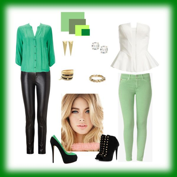 """Verde"" by thay-neres on Polyvore"