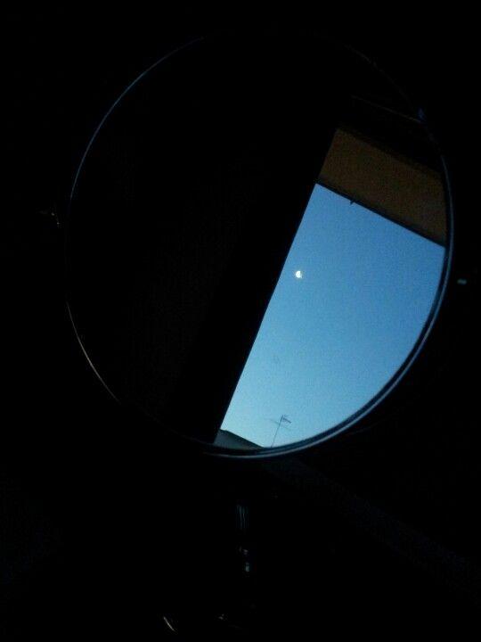 Little moon in my mirror