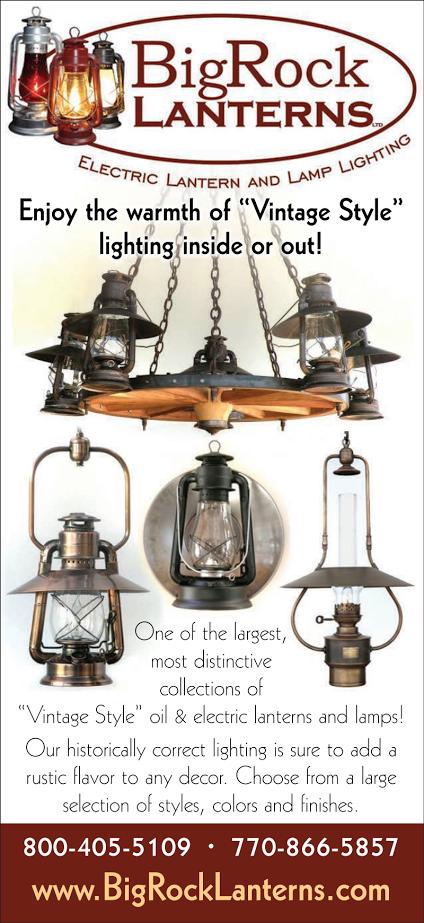 Big Rock Lanterns Sells Custom Made Electric Lanterns And Lamps