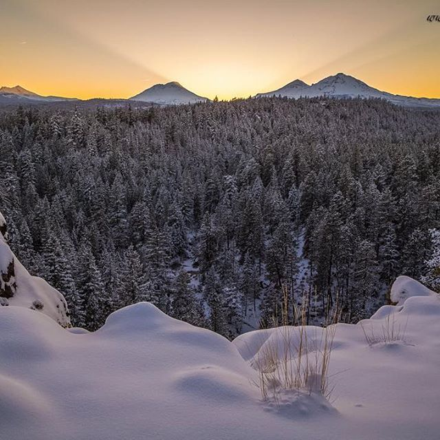 Winter in Central Oregon ---------------------- @extreme_oregon