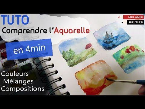 L Arbre En Hiver Atelieraquarelle Org Youtube Aquarelle