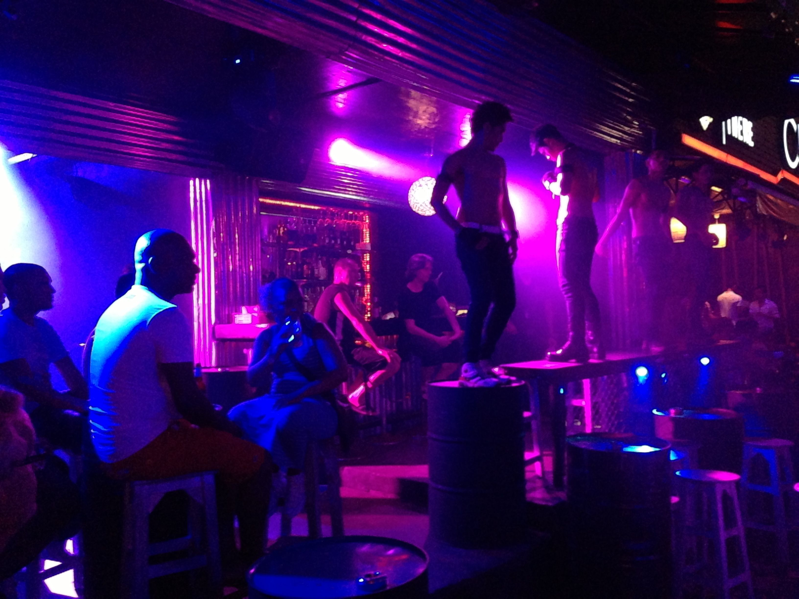 Many bars offer girls on the bars dancing to entertain the visitors and adding styled entertainment.