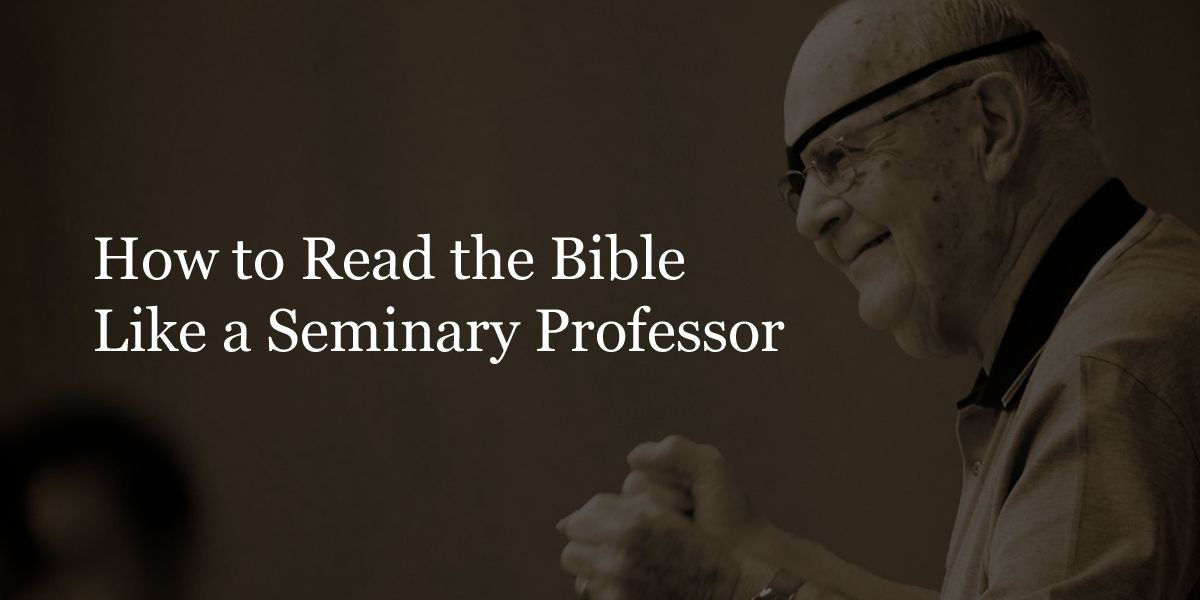 Deepen your study of the Bible with Dallas Theological