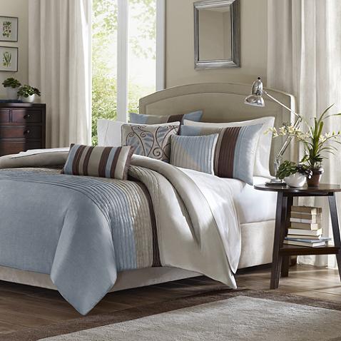 Tradewinds 6 Piece Duvet Cover Set In Blue Comforter Sets Duvet Sets Home Essence