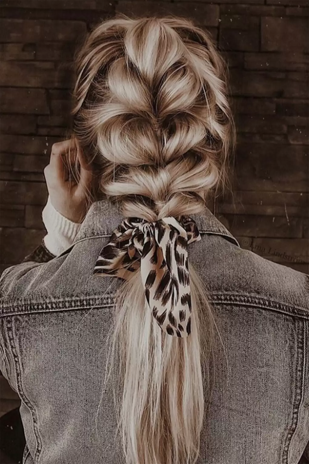 Pull-through braids are this summer's most popular