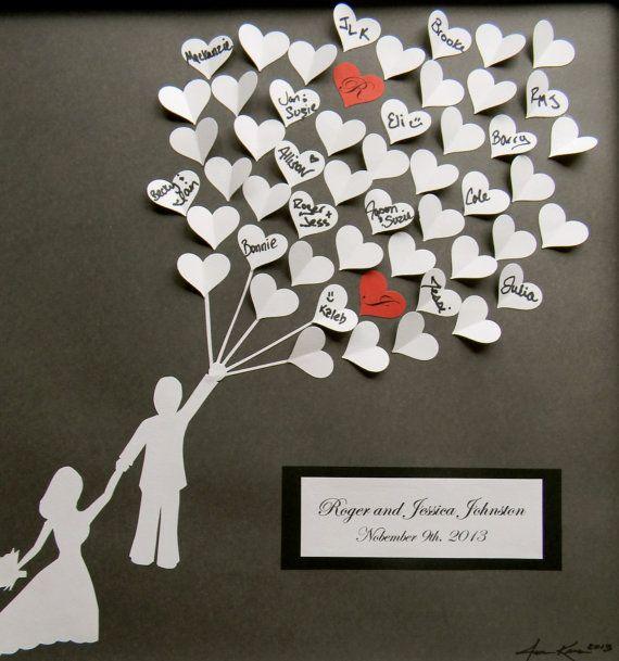 Hochzeitsgeschenk buch gestalten