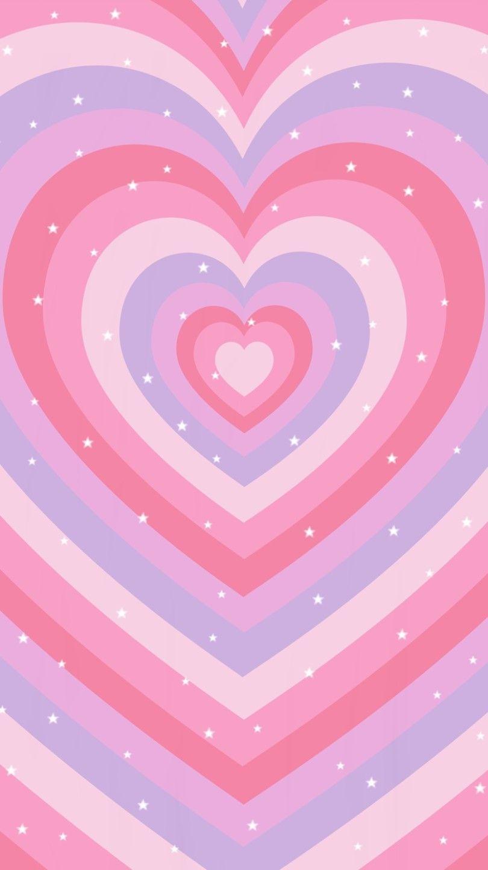 Indie Purpule Heart | Hippie Wallpaper, Heart Wallpaper