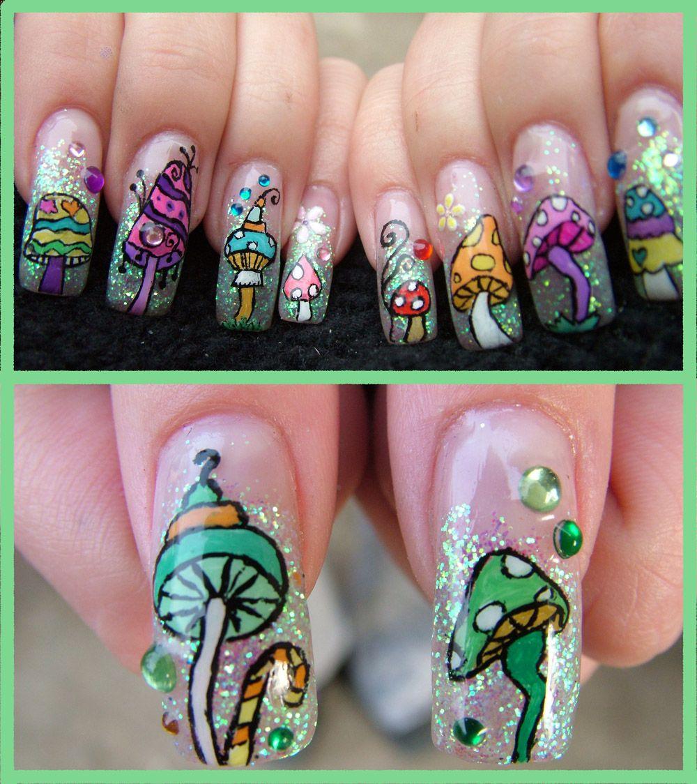 F yeah nail art