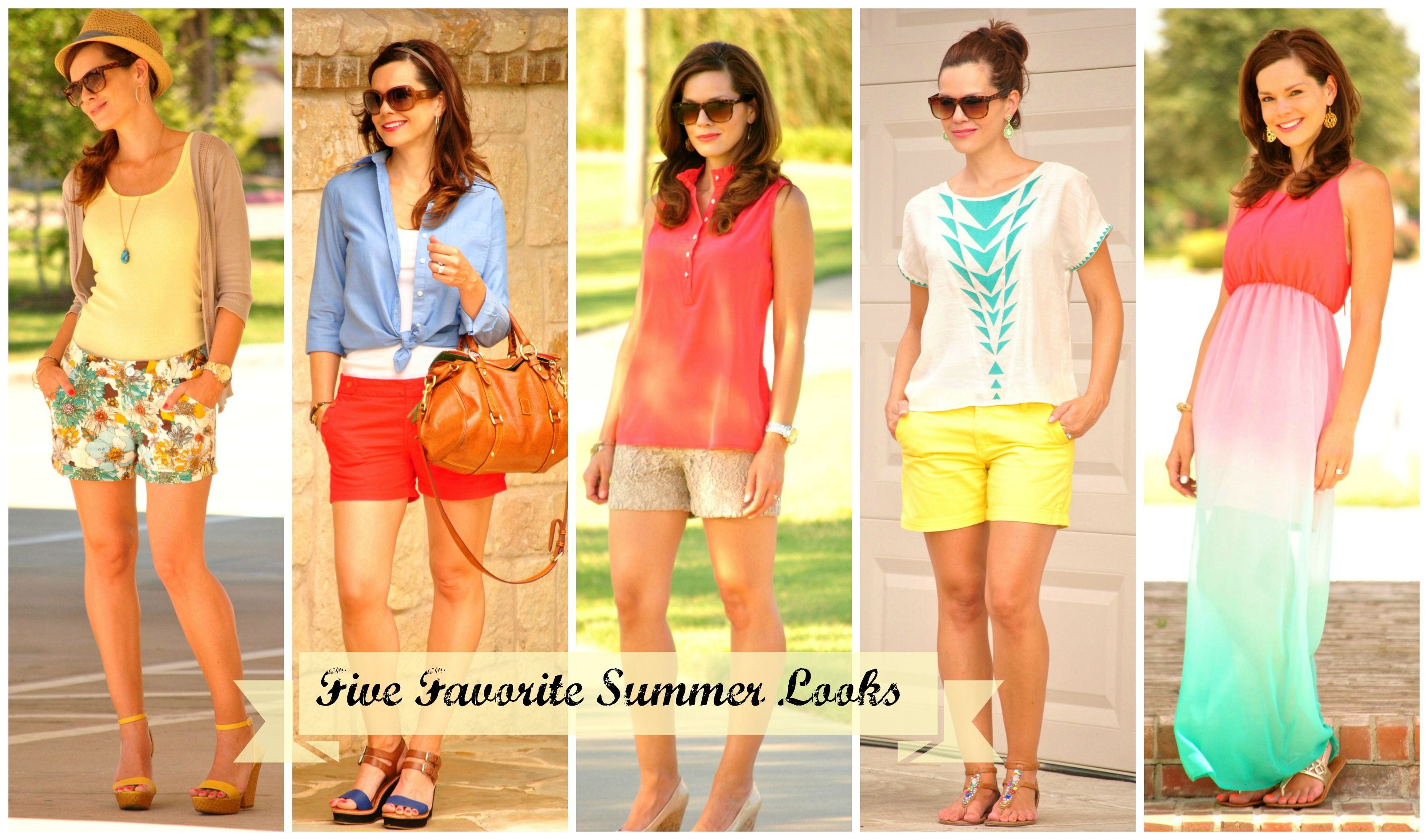 225c265e930 Five easy affordable summer outfits.  summeroutfit
