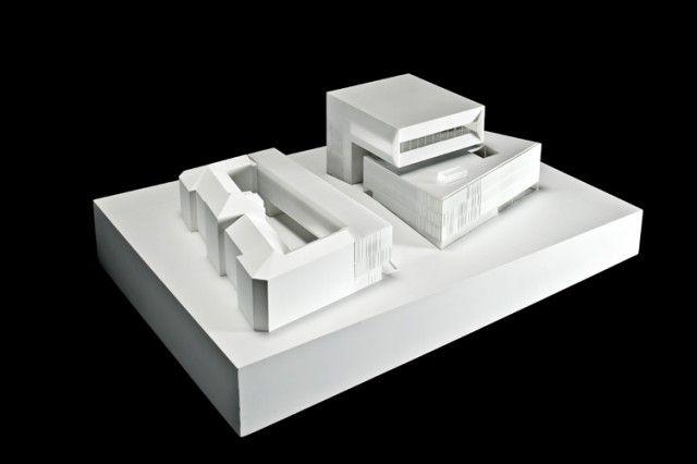Pin by Blue on Nieto + Sobejano Pinterest - maquette de maison a construire