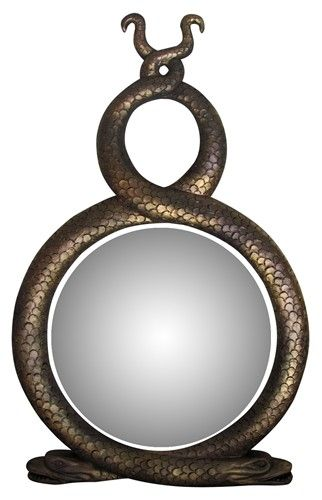 Snake Mirror   Million Dollar Decorators