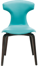 Montera de roberto lazzeroni pour poltrona frau la chaise - Mousse pour chaise ...