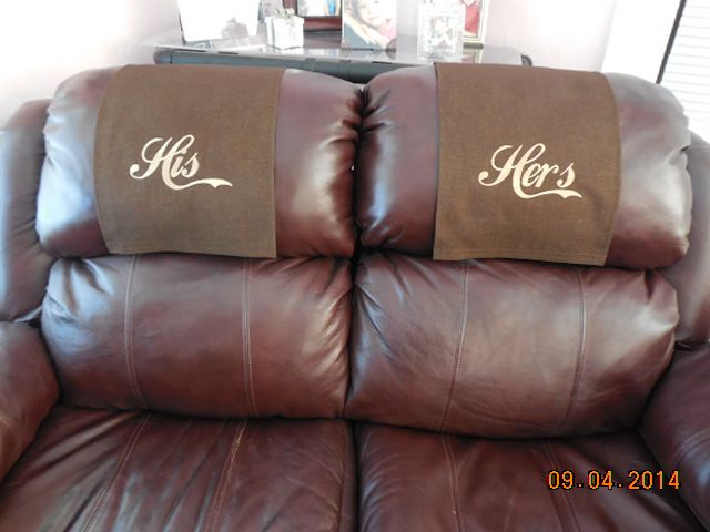 Chair Headrest Cover Pottery Barn Wicker And Ottoman Recliner Covers This Is United Fabrics Upholstery Material Color Medium Brown Brownie Protect Your Furniture With A Cap