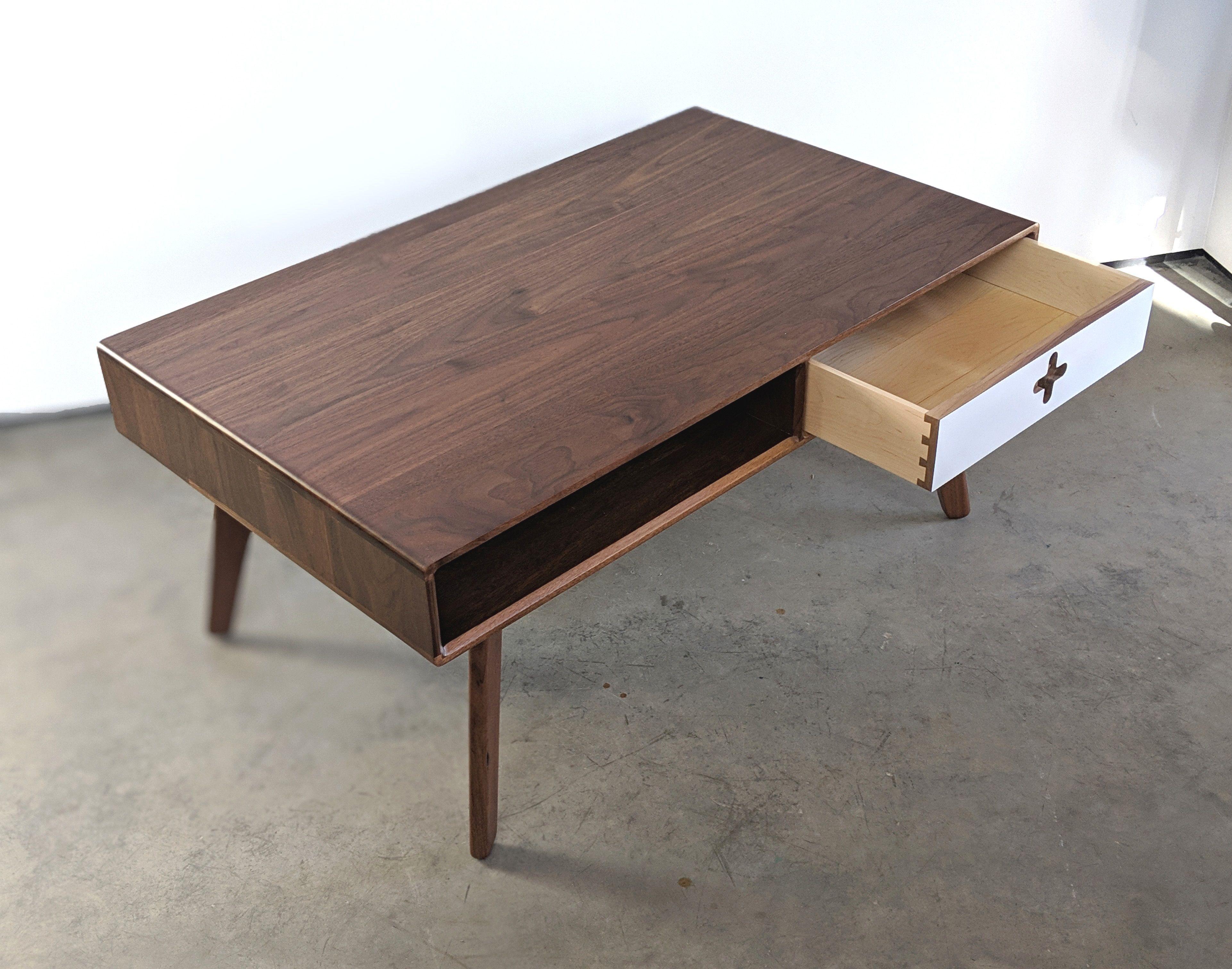 Mid Century Modern Coffee Table Scandinavian Design Coffee Table