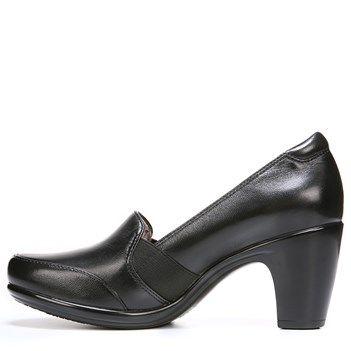 Womens Shoes Naturalizer Vinette Black Leather