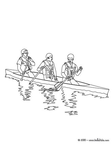 Boat Coloring Pages Canoe On The River Coloring Pages Canoe Colouring Pages