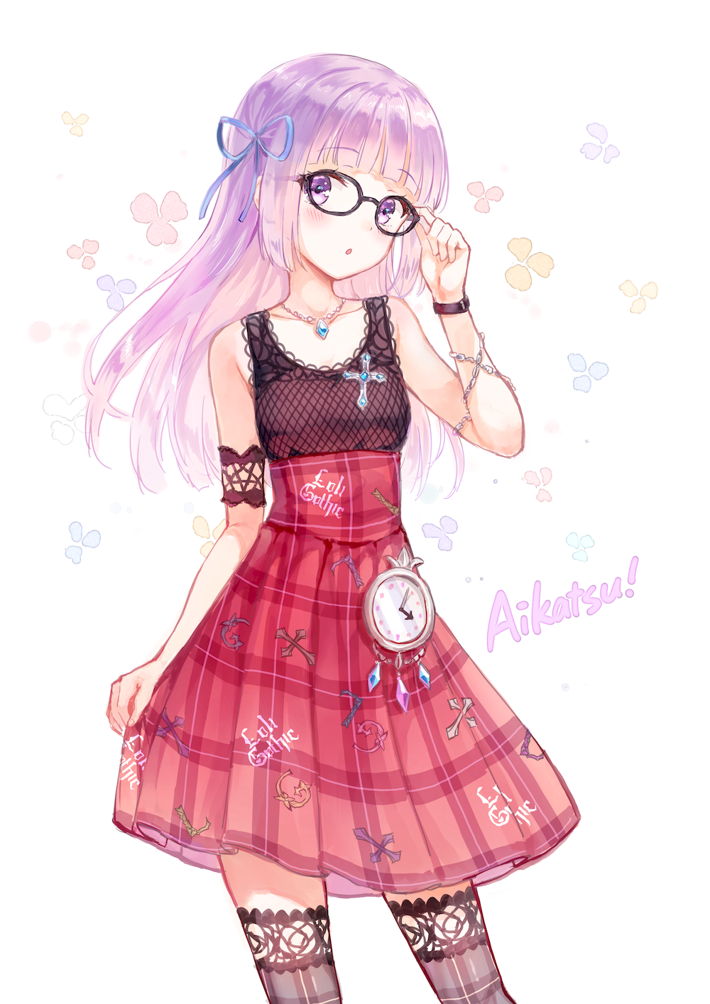 anime girl with purple hair | females | pinterest | anime, girls and