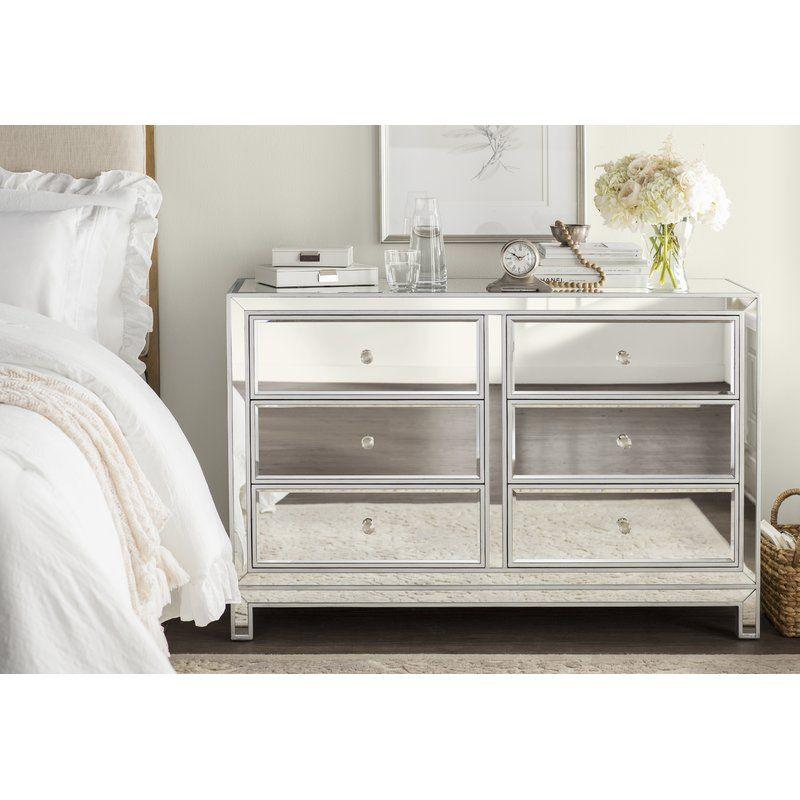 Mariaella 6 Drawer Double Dresser Reviews Joss Main
