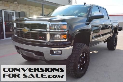 Used 2014 Chevy Silverado 1500 Ltz Crew Cab Z71 Lifted Truck