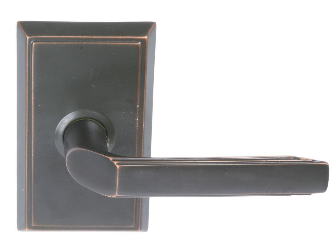 Emtek C805M Milano Classic Brass Dummy Door Leverset with the CF ...