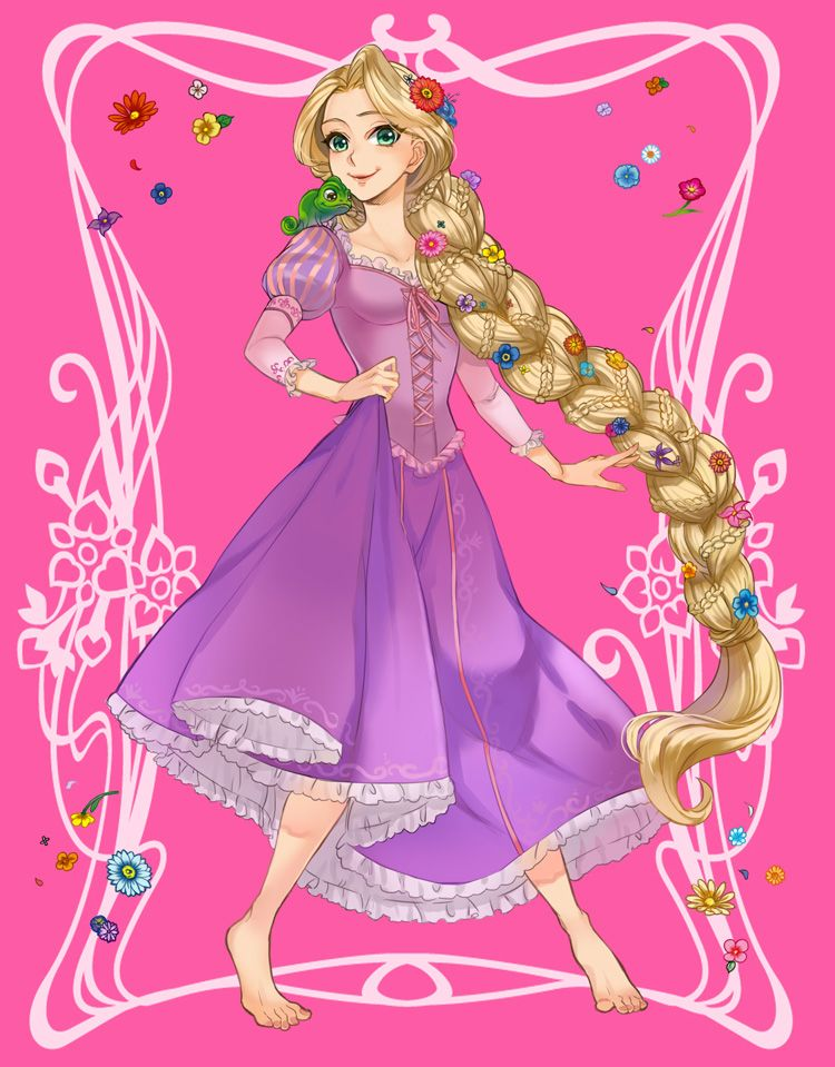 Rapunzel by ANO