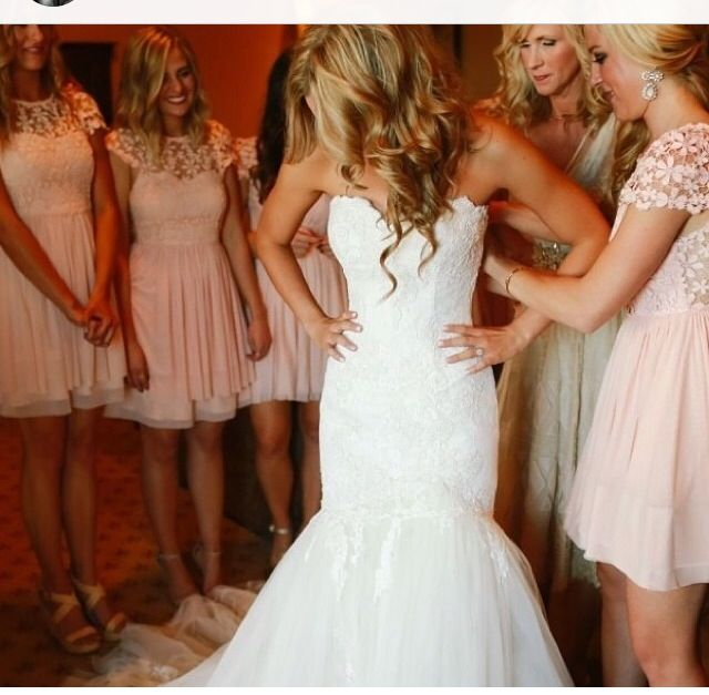 The bridesmaids dresses are perfect!!!